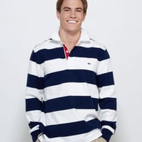 Men's Rugby Shirts: Regatta Stripe Rugby for Men - Vineyard Vines
