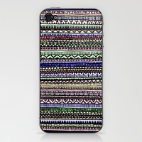 Black Pattern iPhone & iPod Skin by Romi Vega