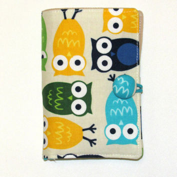 Tea Bag Wallet, Tea Bag Holder, Tea Bag Case, Tea Wallet, Tea Bag organizer Travel Case Owls