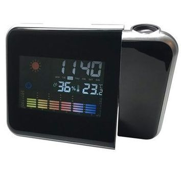 Alarm Clock With Bi Time Prjctr