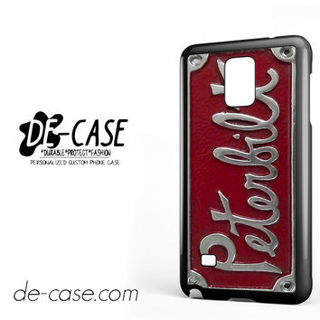 Plate Peterbilt Truck For Samsung Galaxy Note 4 Case Phone Case Gift Present