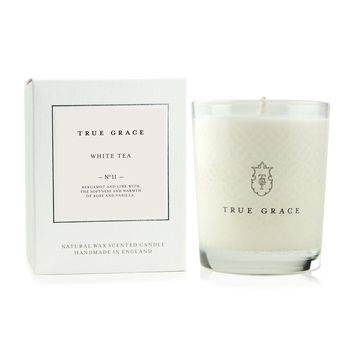 Classic White Tea Scented Candle, by True Grace