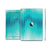 The Teal Disco Ball Skin Set for the Apple iPad Air 2