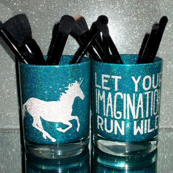 2PC set Let Your Imagination Run Wild Unicorn - YOU CUSTOMIZE!