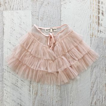 Pink Ruffle Cape by Miss Rose Sister Violet