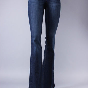 High Waisted Flare Denim