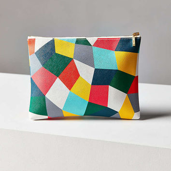 Delfonics Quitterie Mosaic Medium Pouch - Urban Outfitters