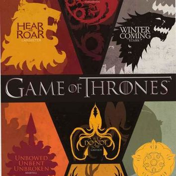 Game of Thrones Sigils XL Giant Poster 39x55