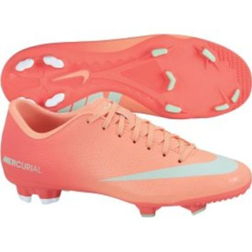 Nike Women's Mercurial Victory IV FG Soccer Cleat - Pink | DICK'S Sporting Goods