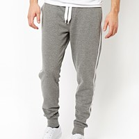 ASOS Skinny Sweatpants With Sports Stripe
