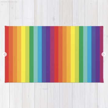 Rainbow Stripes by Starflyer Art