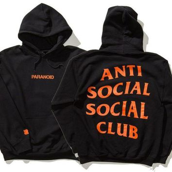ESBC8S Undefeated Anti Social Social Club Lover Fashion Print Top Sweater Pullover Hoodie