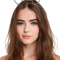 Spiked Bunny Ears Headband
