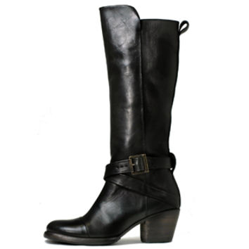 SUTRO® Lawton Strappy Boot - Black