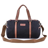 Vintage Canvas Gym Bag #30317
