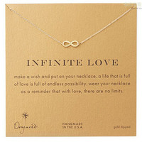 Gift Shiny New Arrival Jewelry Stylish Infinity Alloy Lock Necklace  With Card  [6345011777]