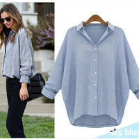 women shirts tops summer plus size clothes [9918679820]