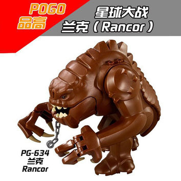 PG634 Star Wars DIY building block Legacy Collection Jabba Rancor bricks Minifigure kids toys gift Compatible With Legoe