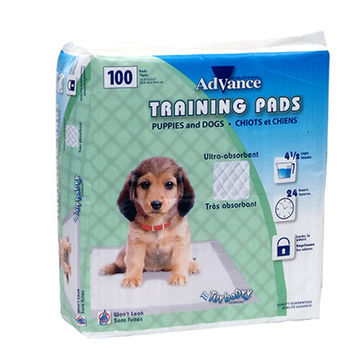 Advance Housebreaking Training Puppy Pads 100 Pack