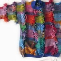 Ugly Ugly Sweater- Josephs Technicolor Dream Sweater