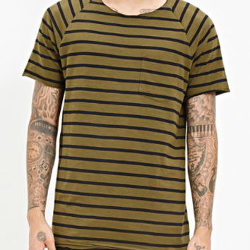 Striped Raglan Tee