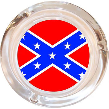 Rebel Flag Ashtray