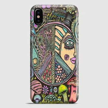 Hippie Scratch Board Mandala iPhone X Case | casescraft