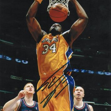 Shaquille O'Neal Los Angeles Lakers Autographed 8x10 Photo