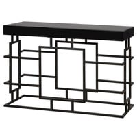 Andy Black Console Table by Uttermost