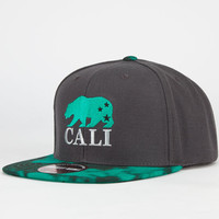 American Needle Beryl Cali Mens Strapback Hat Black Combo One Size For Men 23421914901