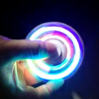 Lighting LED Fidget Hand Spinner Colorful Lighting Toy