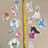 Fairy Pokemon Stickers