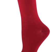 Socksmith Bamboo Solid Crimson Socks