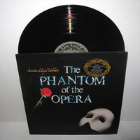 Rare Vinyl Record The Phantom of the Opera by JustCoolRecords