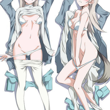 New  Strike Witches Eila Anime Dakimakura Japanese Pillow CoveråÊStrike Witches Eila1