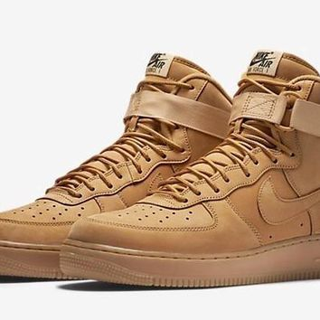 spbest Nike Air Force 1 High Flax