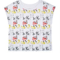 Allover Mickey Mouse Tee