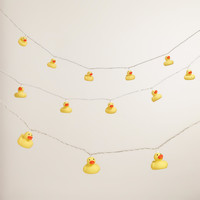 Rubber Ducky 10-Bulb String Lights - World Market