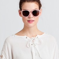 Sinclair Sunglasses In Pink By A.J. Morgan