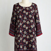 Boho Mid-length 3 Shift Private Gallery Guide Dress