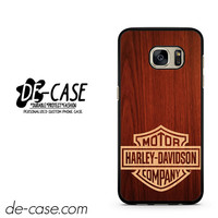 Harley Davidson Wood DEAL-5057 Samsung Phonecase Cover For Samsung Galaxy S7 / S7 Edge