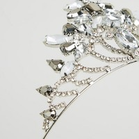 River Island Jewel Tiara at asos.com