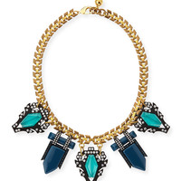 Lucid Statement Necklace - Lulu Frost - Gold