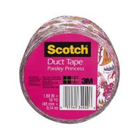 3M Duct Tape, Pink Paisley, 1.88-Inch by 10-Yard