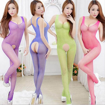 [Crazy Hot Sale Couples Sexy Fishnet Sleepwear Lingerie G-string AnnaMu Underwear = 5988105089