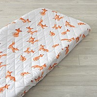 Fox Changing Pad Cover