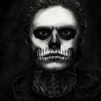Inspired by American Horror Story - Murder House  - Tate Langdon - Evan Peters - Wall Art - 11 x 17 Small Poster Print