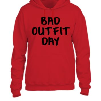 Bad outfit day - UNISEX HOODIE