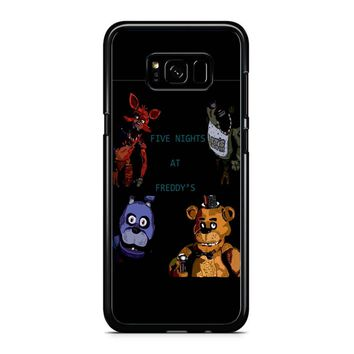 Five Nights At Freddy S Fan Made Picture Samsung Galaxy S8 Plus Case