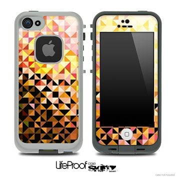 Abstract Bright Tiled V3 Skin for the iPhone 5 or 4/4s LifeProof Case